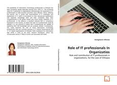 Обложка Role of IT professionals In Organizatios