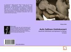 Bookcover of Aulis Sallinen.Violinkonzert