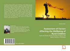 Copertina di Assessment of Factors Affecting the Wellbeing of Rural Children