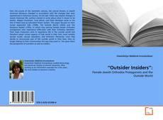 """Outsider Insiders"":的封面"