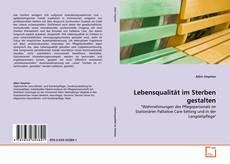 Portada del libro de Lebensqualität im Sterben gestalten