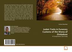 Bookcover of Judaic Traits in Funerary Customs of the Shona of Zimbabwe