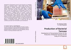 Bookcover of Production of Bacterial Tannase