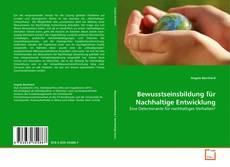 Couverture de Bewusstseinsbildung für Nachhaltige Entwicklung
