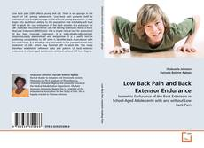 Обложка Low Back Pain and Back Extensor Endurance