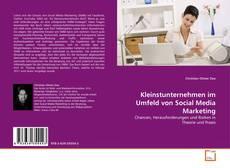 Portada del libro de Kleinstunternehmen im Umfeld von Social Media Marketing