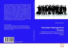 Bookcover of Volunteer Management Prozess