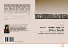 Copertina di Winter Climate Change in Ontario, Canada