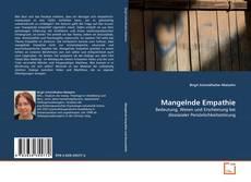 Bookcover of Mangelnde Empathie
