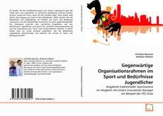 Portada del libro de Gegenwärtige Organisationsrahmen im Sport und Bedürfnisse Jugendlicher