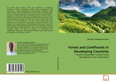 Bookcover of Forest and Livelihoods in Developing Countries