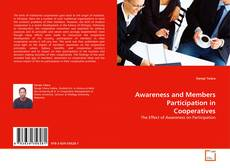 Capa do livro de Awareness and Members Participation in Cooperatives