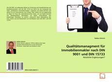 Bookcover of Qualitätsmanagment für Immobilienmakler nach DIN 9001 und DIN 15733