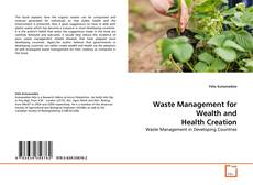Bookcover of Waste Management for Wealth and Health Creation