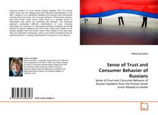 Portada del libro de Sense of Trust and Consumer Behavior of Russians