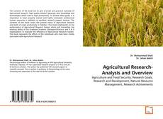 Copertina di Agricultural Research-Analysis and Overview