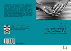 Bookcover of Machine Learning in Concrete Technology