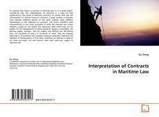 Обложка Interpretation of Contracts in Maritime Law
