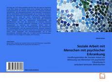 Copertina di Soziale Arbeit mit Menschen mit psychischer Erkrankung