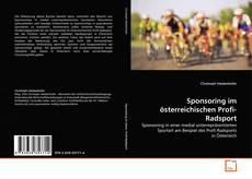 Sponsoring im österreichischen Profi-Radsport kitap kapağı