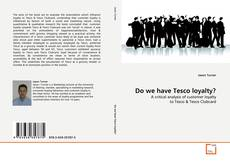 Couverture de Do we have Tesco loyalty?