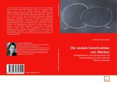 Buchcover von Die soziale Konstruktion von Marken