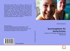Обложка Sportangebote für Senior(inn)en