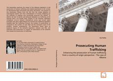 Bookcover of Prosecuting Human Trafficking