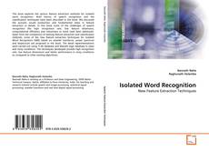 Bookcover of Isolated Word Recognition