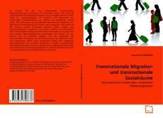 Couverture de Transnationale Migration und transnationale Sozialräume