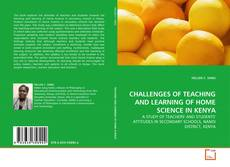 Capa do livro de CHALLENGES OF TEACHING AND LEARNING OF HOME SCIENCE IN KENYA