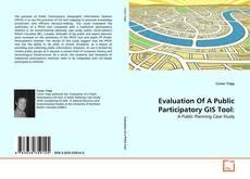 Buchcover von Evaluation Of A Public Participatory GIS Tool: