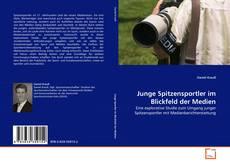 Capa do livro de Junge Spitzensportler im Blickfeld der Medien