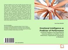 Bookcover of Emotional Intelligence as Predictor of Performance