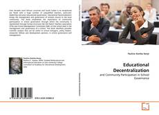 Bookcover of Educational Decentralization