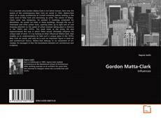 Portada del libro de Gordon Matta-Clark