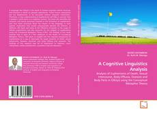 Обложка A Cognitive Linguistics Analysis
