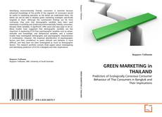 Bookcover of GREEN MARKETING in THAILAND