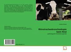 Bookcover of Rhinotracheobronchoskopie beim Rind