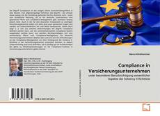 Bookcover of Compliance in Versicherungsunternehmen
