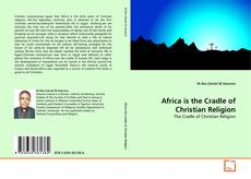 Africa is the Cradle of Christian Religion kitap kapağı