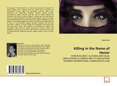 Portada del libro de Killing in the Name of Honor