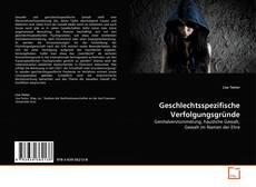 Geschlechtsspezifische Verfolgungsgründe kitap kapağı