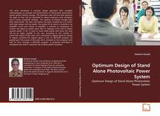 Bookcover of Optimum Design of Stand Alone Photovoltaic Power System