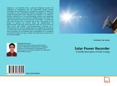 Solar Power Recorder kitap kapağı
