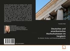 Couverture de Deutsches und amerikanisches Hochschulwesen im Vergleich