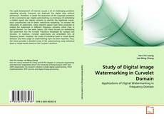 Study of Digital Image Watermarking in Curvelet Domain kitap kapağı