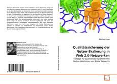 Capa do livro de Qualitätssicherung der Nutzer-Skalierung in Web 2.0-Netzwerken
