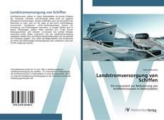 Capa do livro de Landstromversorgung von Schiffen