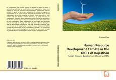 Capa do livro de Human Resource Development Climate in the DIETs of Rajasthan
